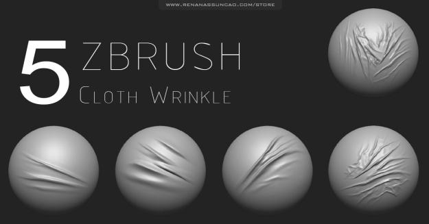 5 cloth wrinkle